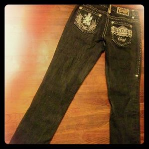 Coogi Ladies Denim Jeans 3/4-32 1/2 Length